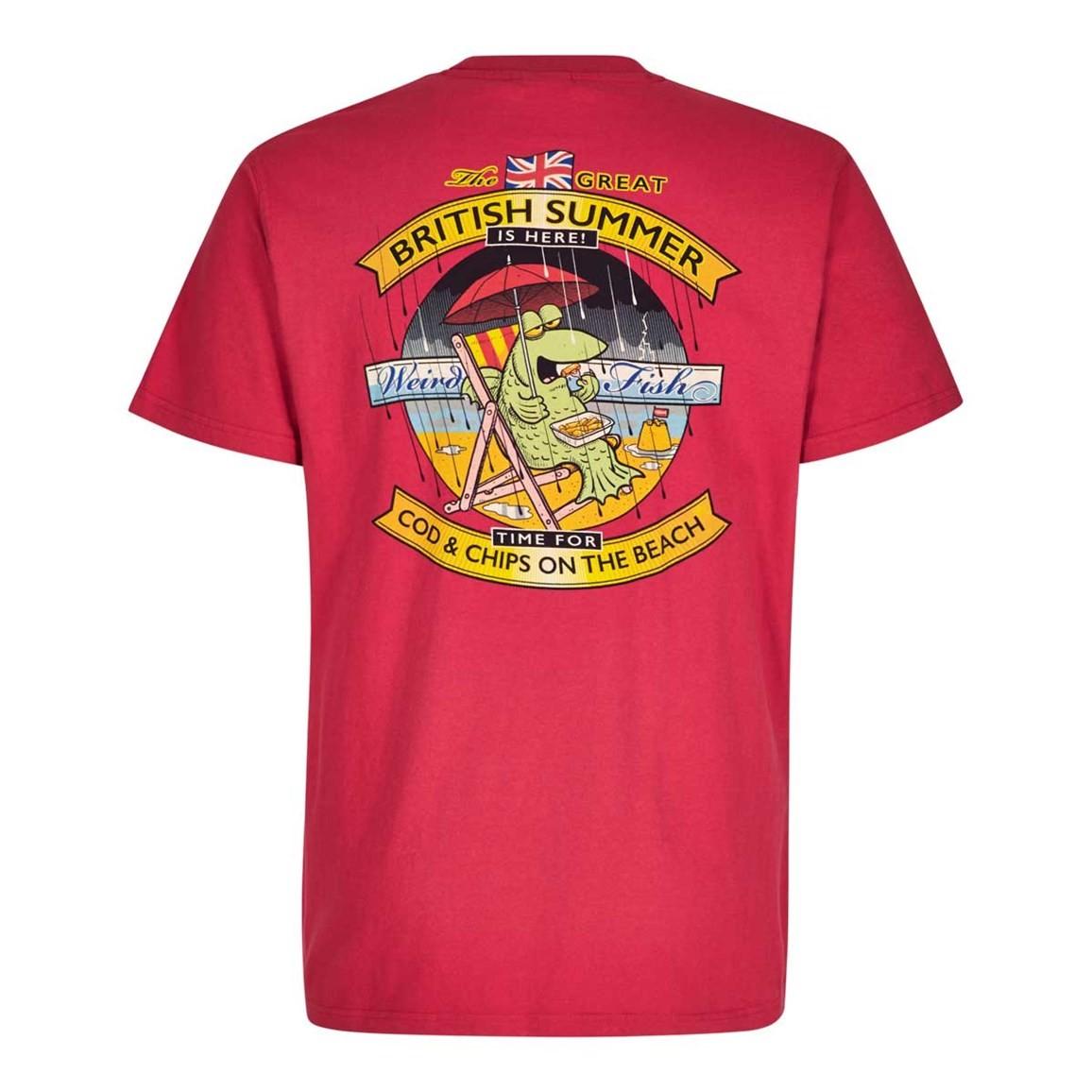 Weird fish cod chips artist t shirt ebay for Weird fish t shirts