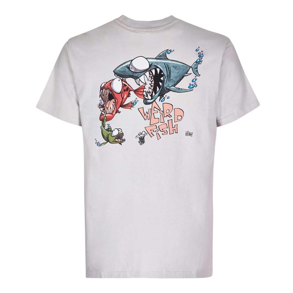 Weird fish fish eat fish artist t shirt ebay for Weird fish t shirts
