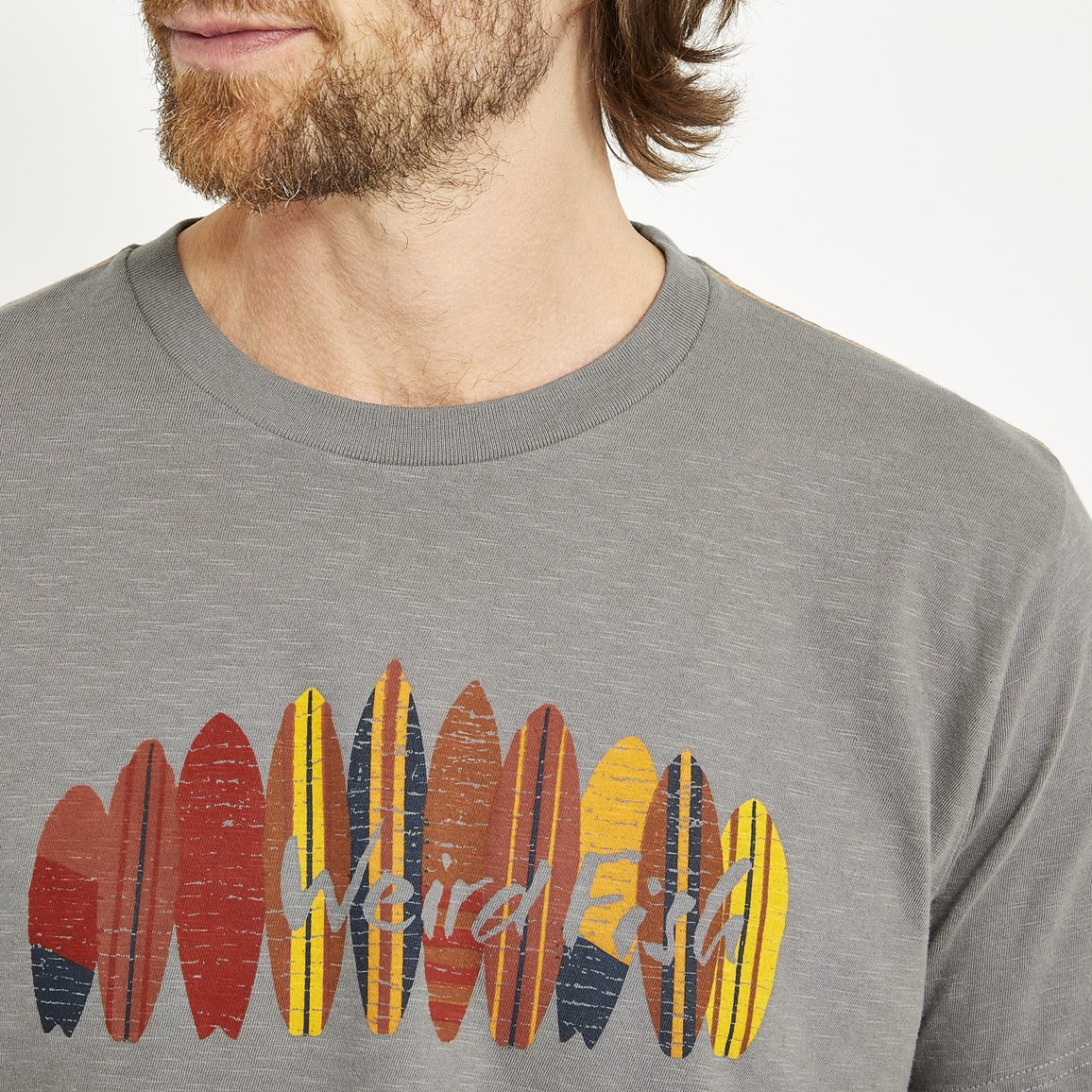 Weird Fish Surfer Graphic T-Shirt