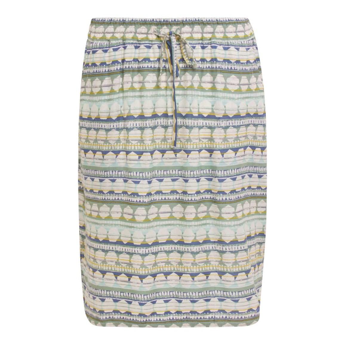 Weird Fish Omaha Printed Lightweight Beach Skirt Peapod