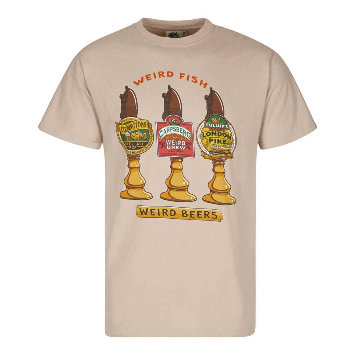 Weird Fish Weird Beers Printed Artist T-Shirt String