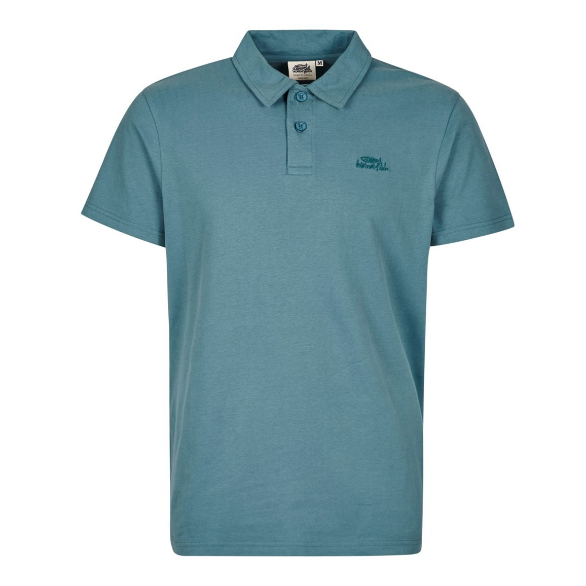 Image of Weird Fish Andre Classic Polo Shirt Sea Green Size L