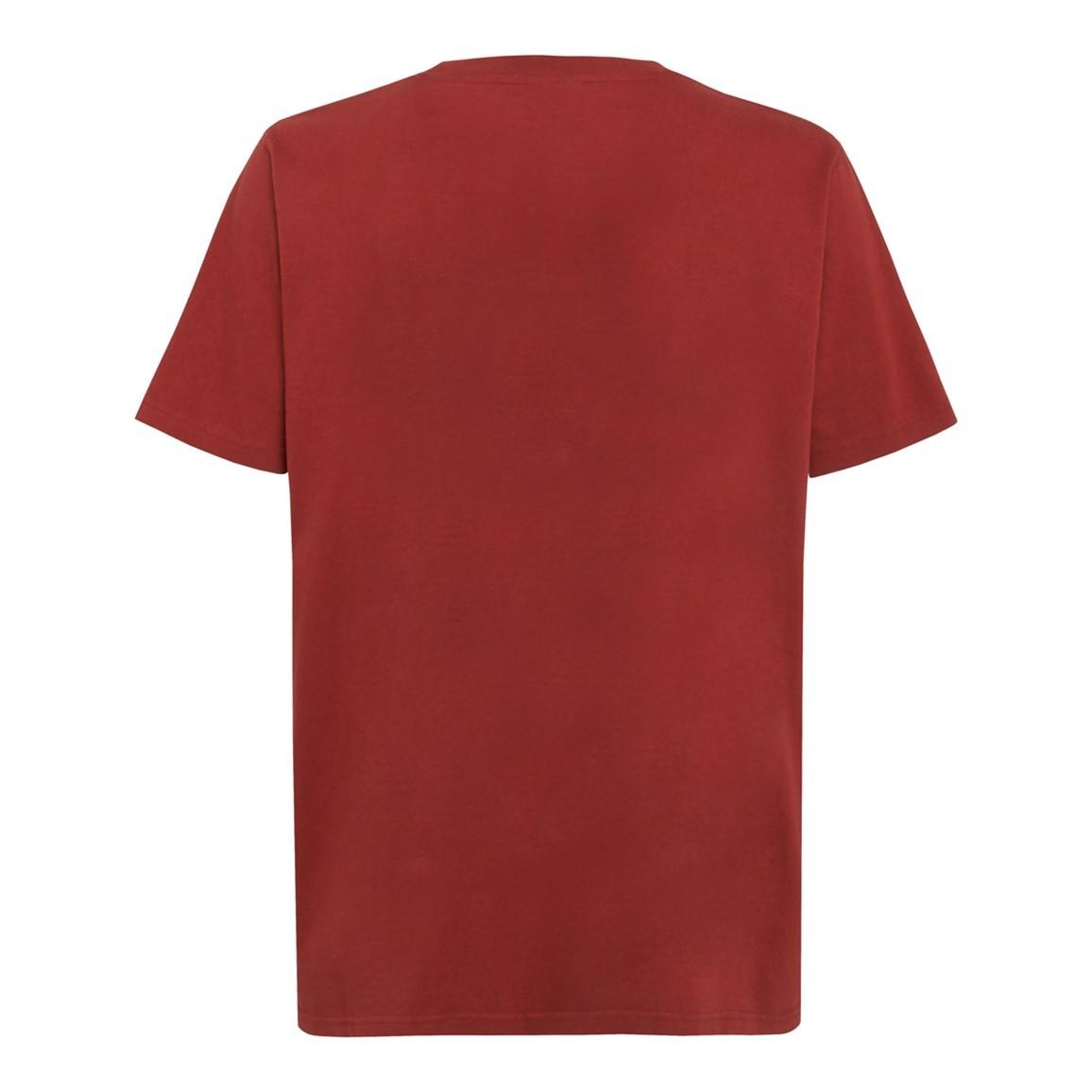 Fishbait Graphic Print T Shirt Paprika