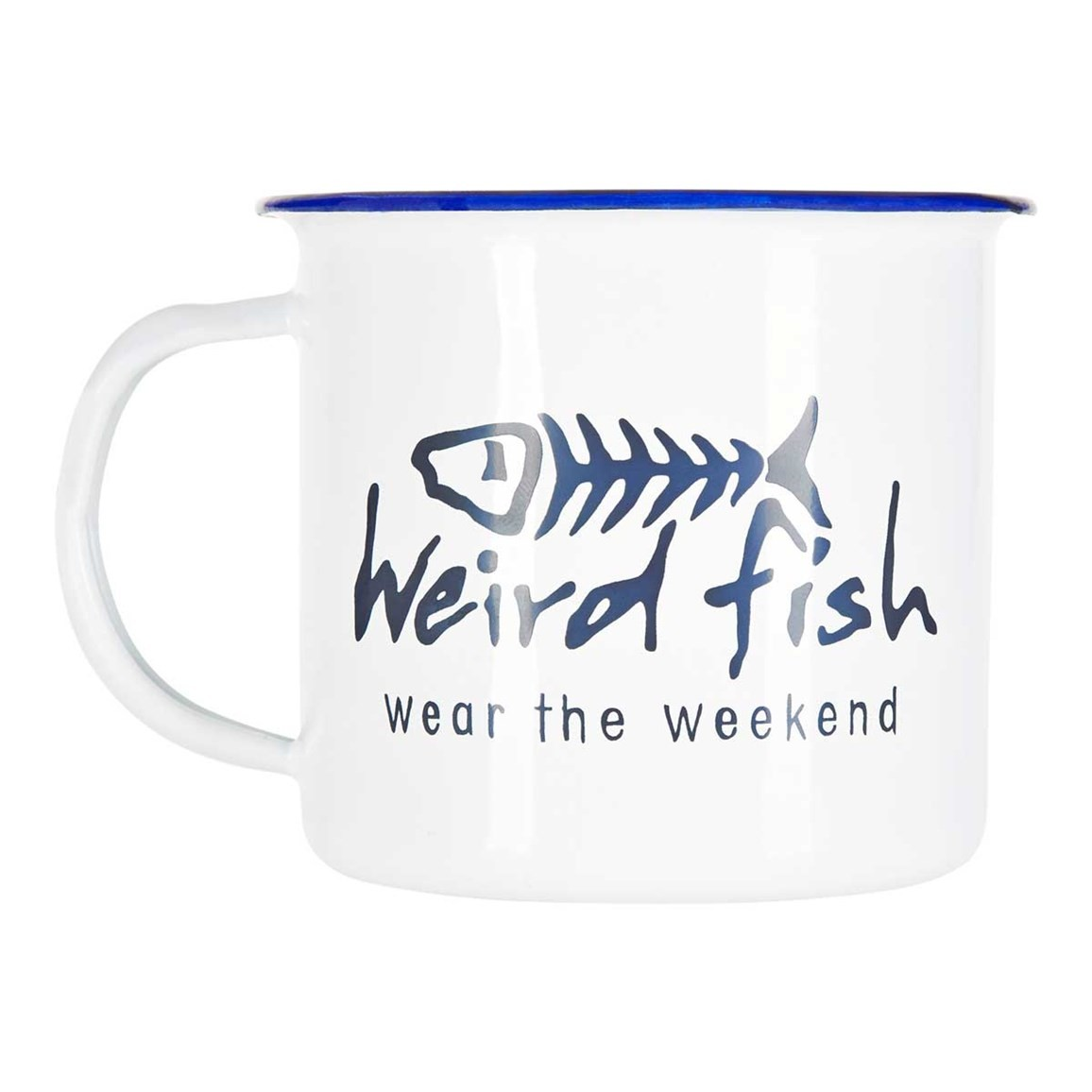 Image of Weird Fish Enamel Mug Size ONE