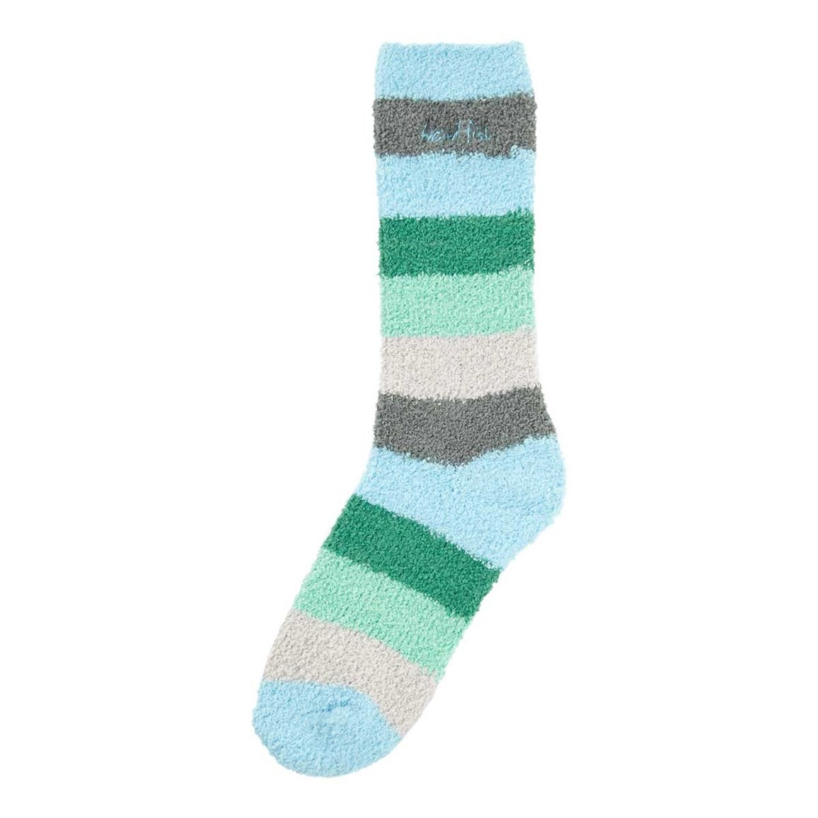 Weird Fish Pool Fluffy Sock Vivid Turquoise