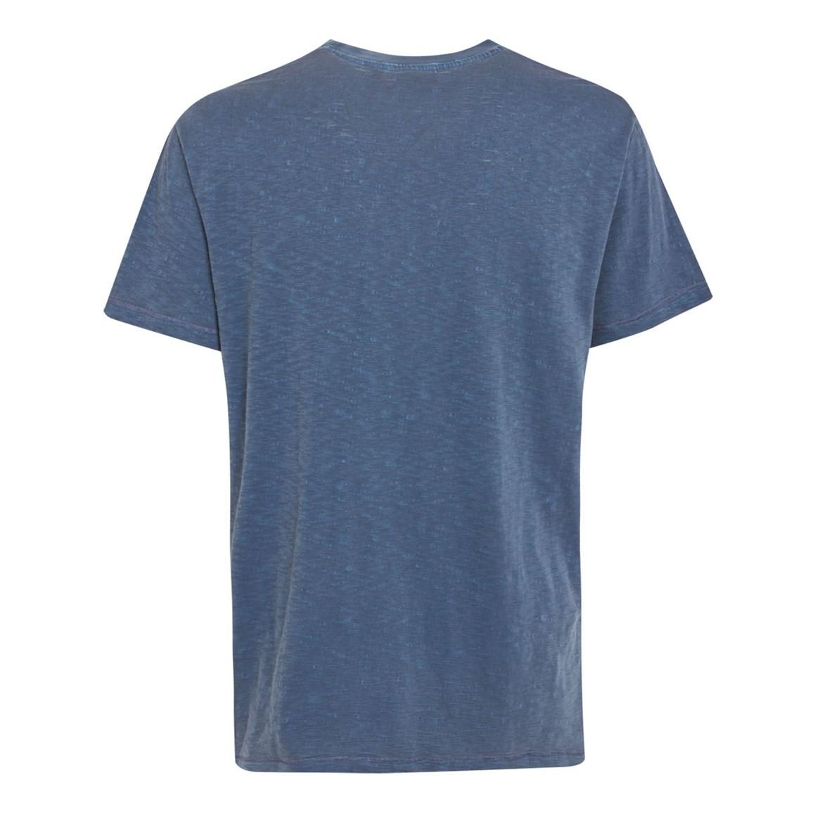 Construction Graphic Print T Shirt Cadet Blue