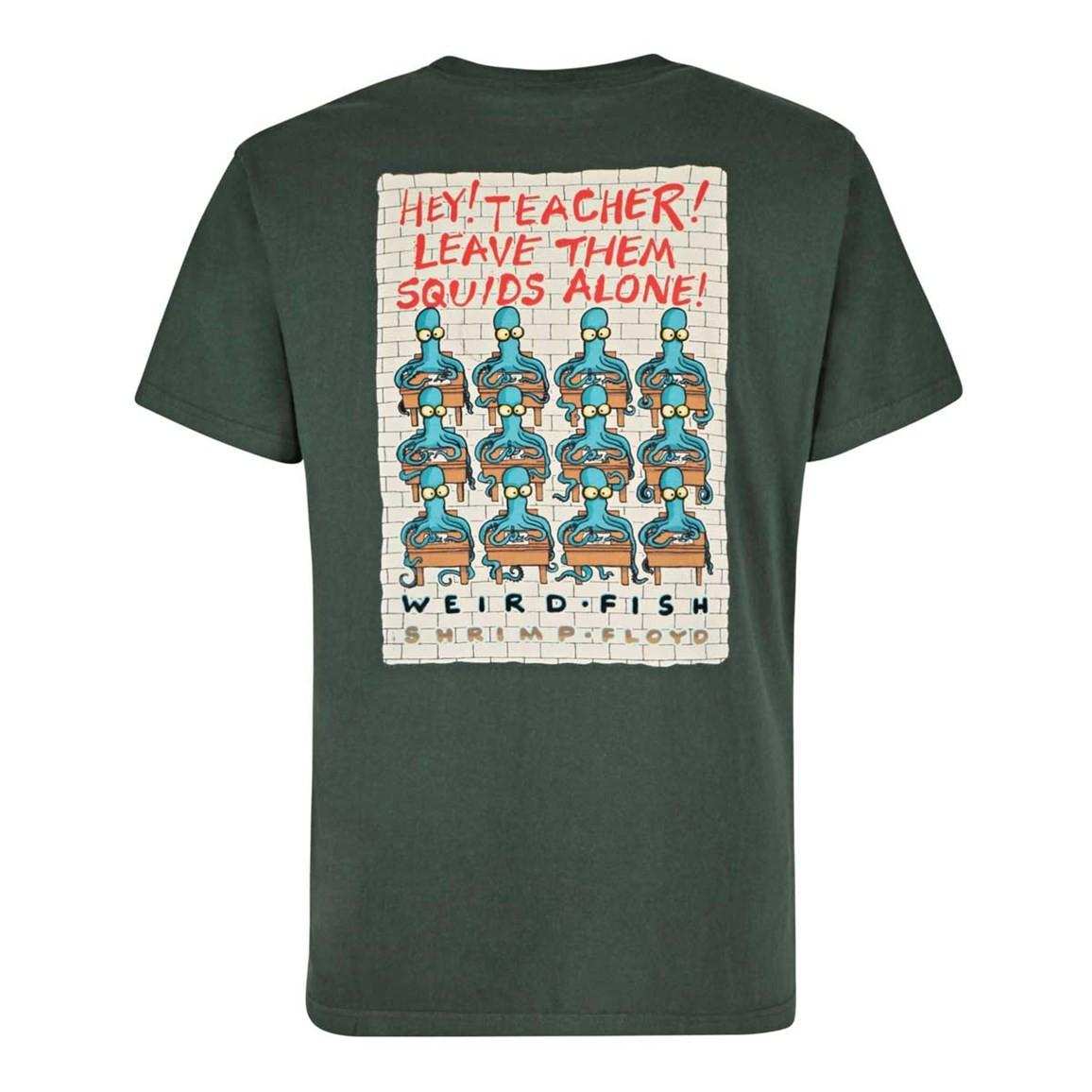 Weird Fish Shrimp Floyd Artist T-Shirt Thyme
