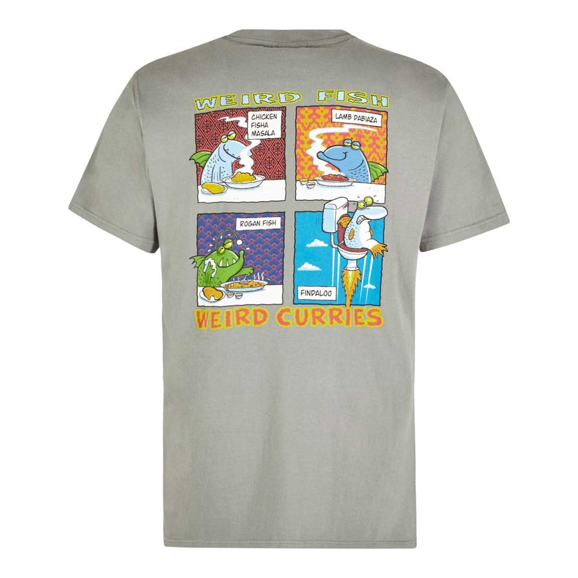 Weird Fish Findaloo Artist T-Shirt Artichoke