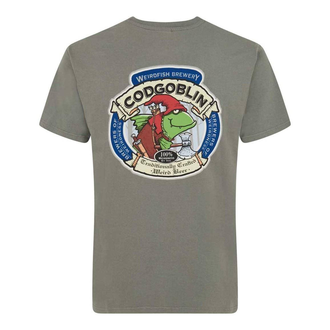 Weird Fish Cod Goblin Artist T-Shirt Artichoke