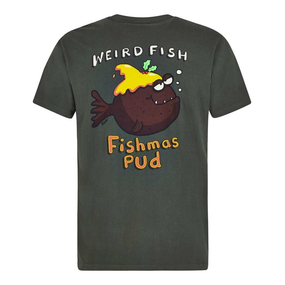 Weird Fish Fishmas Pud Artist T-Shirt Thyme