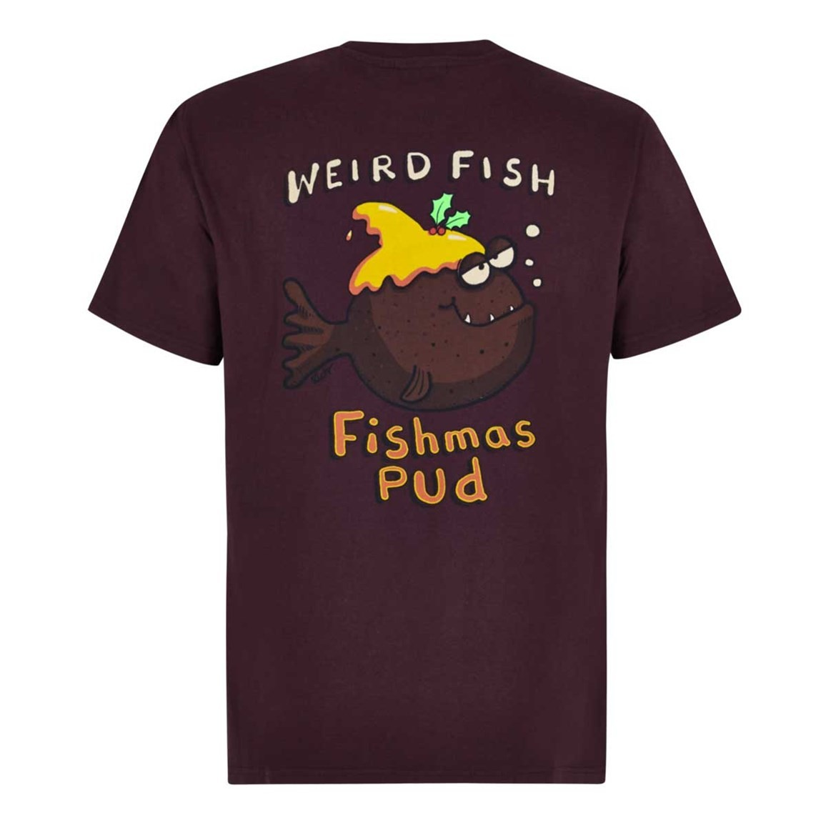 Weird Fish Fishmas Pud Artist T-Shirt Mulled Wine