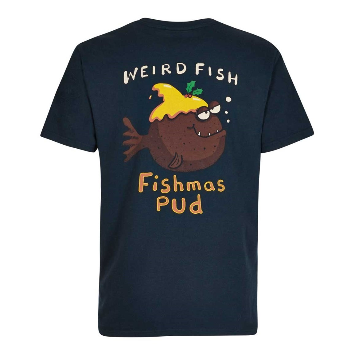 Weird Fish Fishmas Pud Artist T-Shirt Carbon