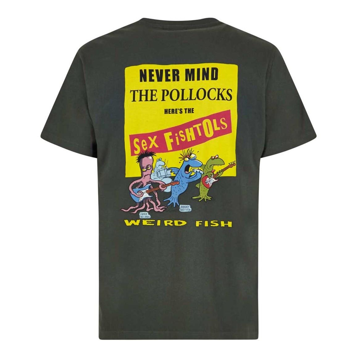 Weird Fish Sex Fishtols Artist T-Shirt Thyme