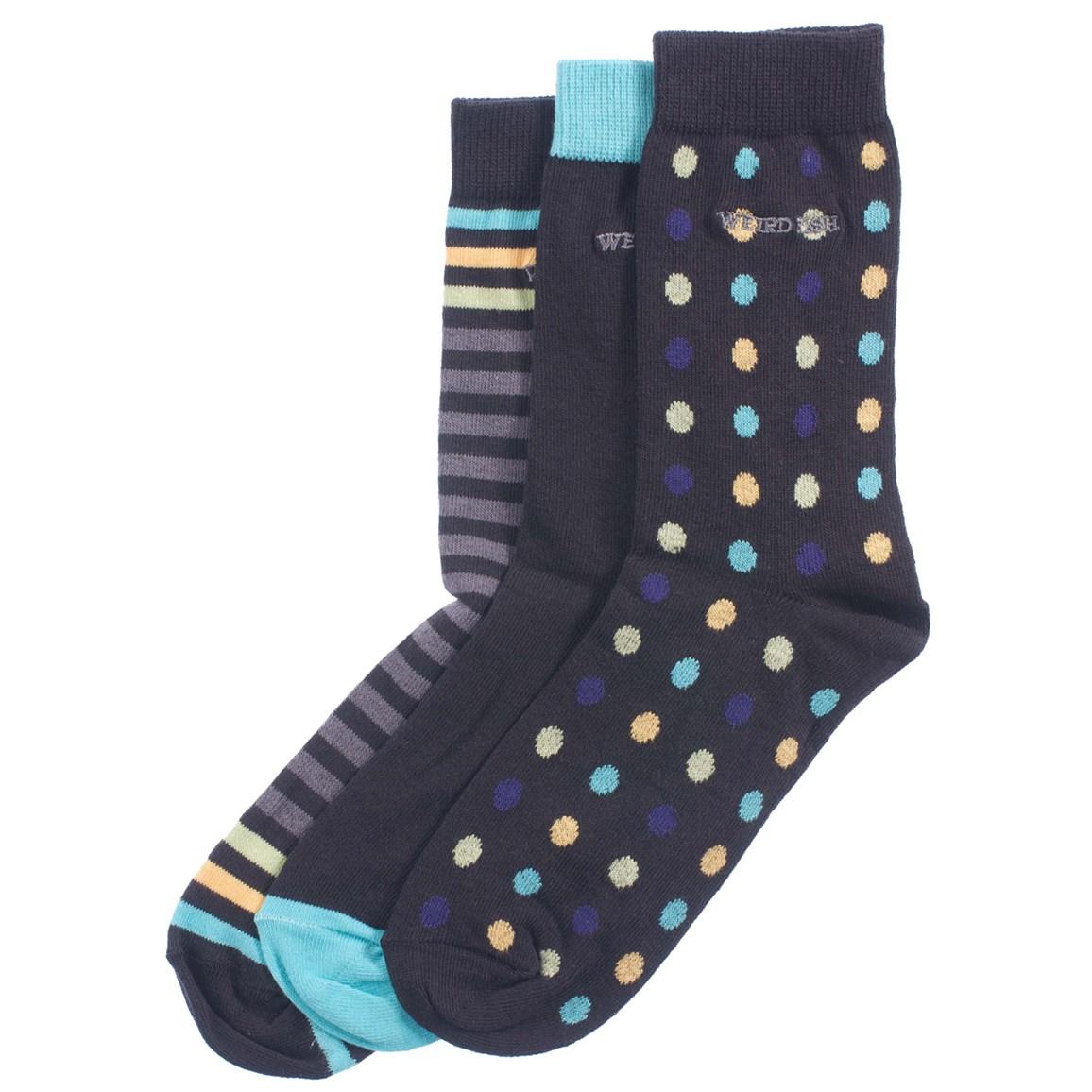 Weird Fish Balta 3 Pack of Socks Multi
