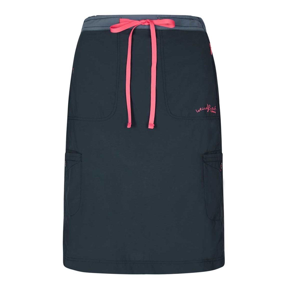 Weird Fish Rogan Ripstop Trail Skirt Navy