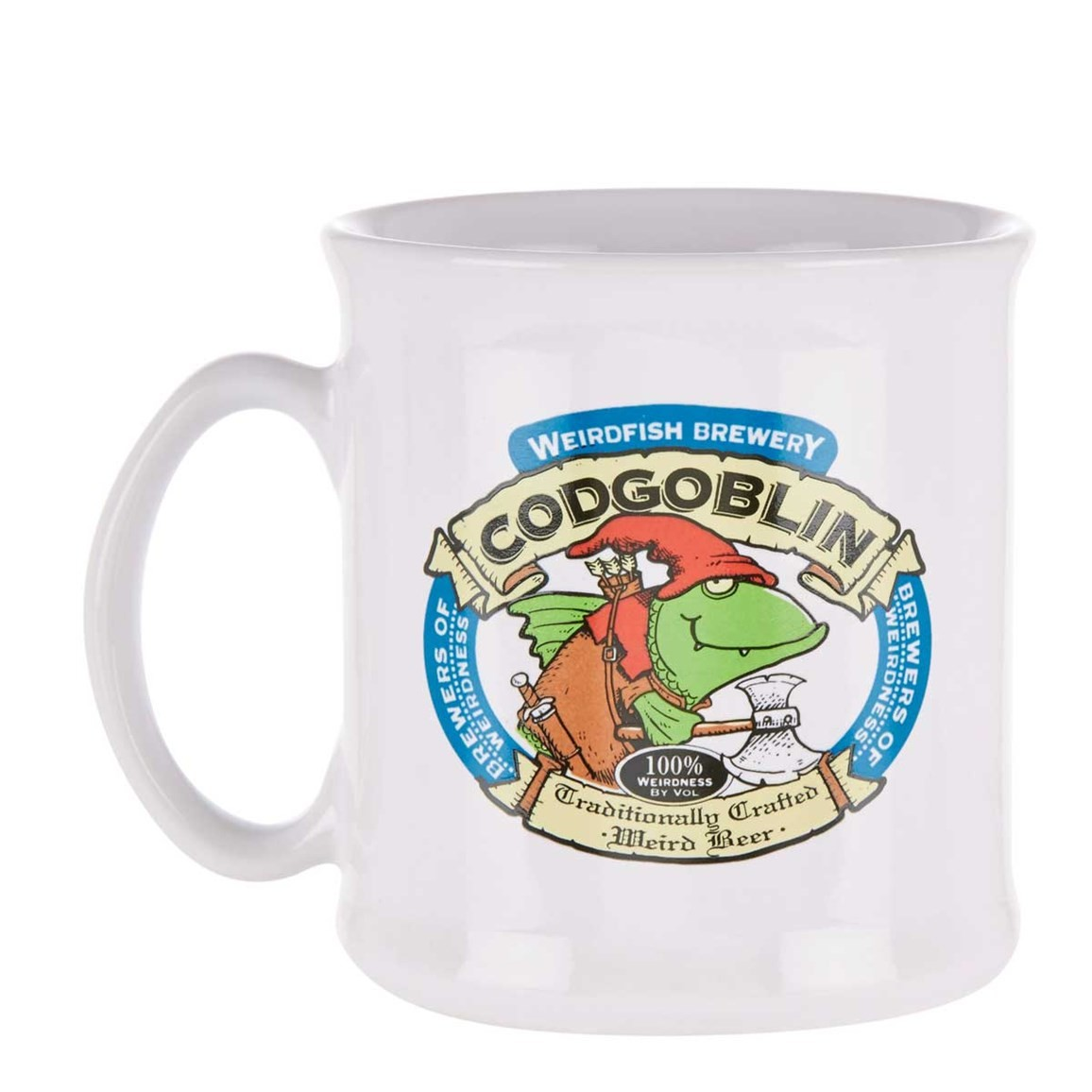 Image of Weird Fish Tankard - Cod Goblin Size ONE