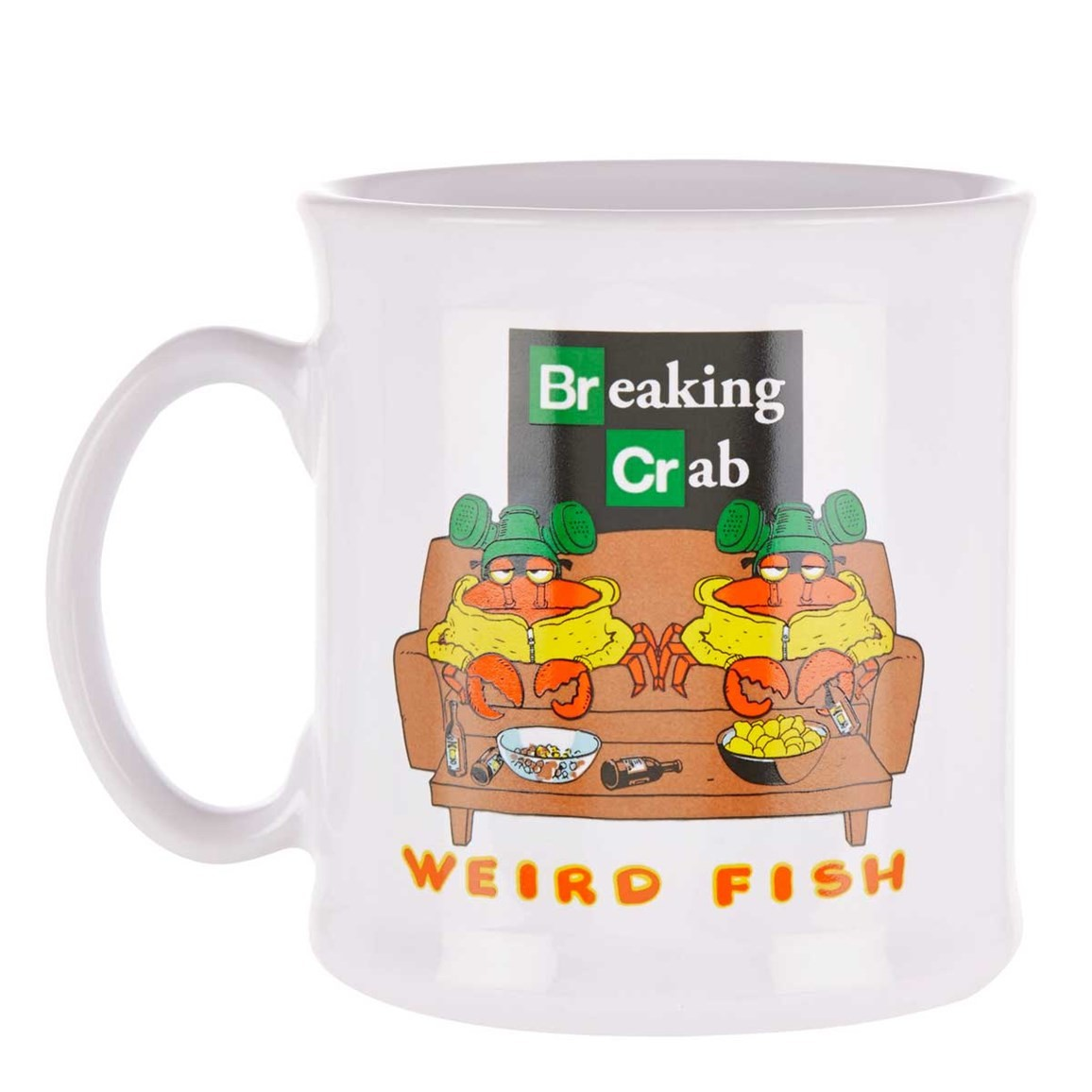 Image of Weird Fish Tankard - Breaking Crab Size ONE