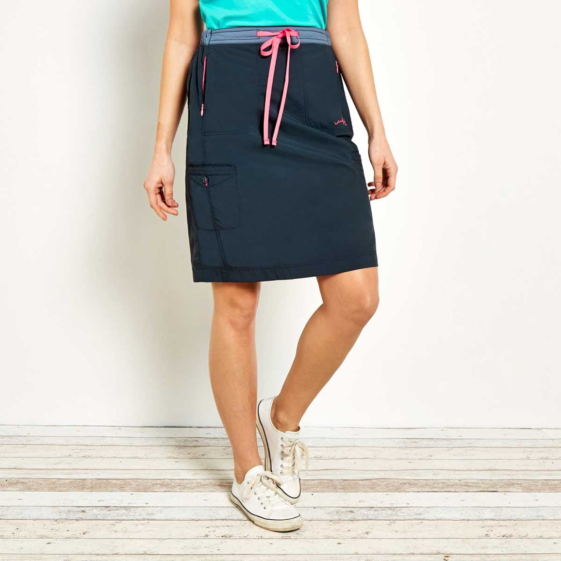 Rogan Ripstop Trail Skirt Navy