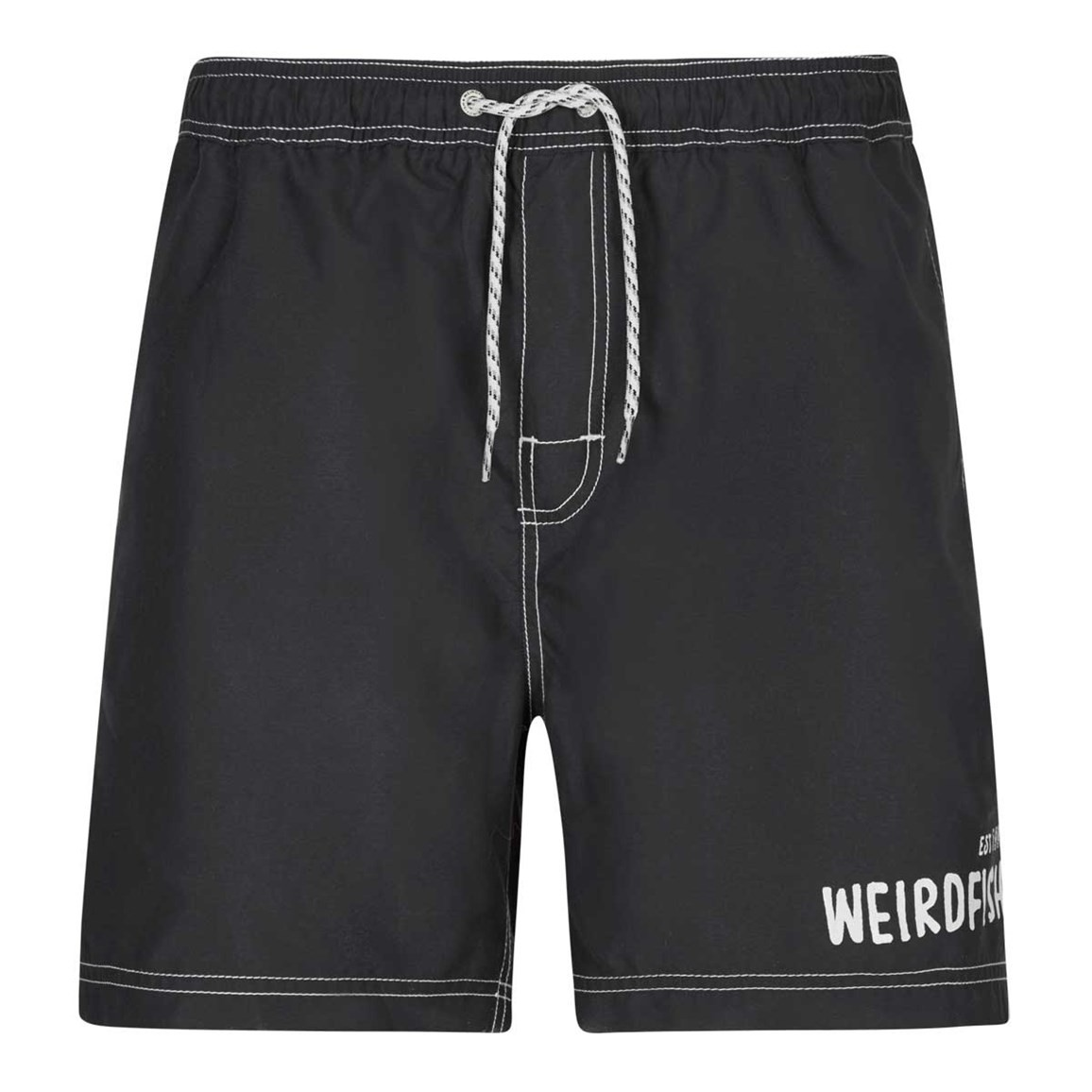 Weird Fish Volac Board Short Washed Black