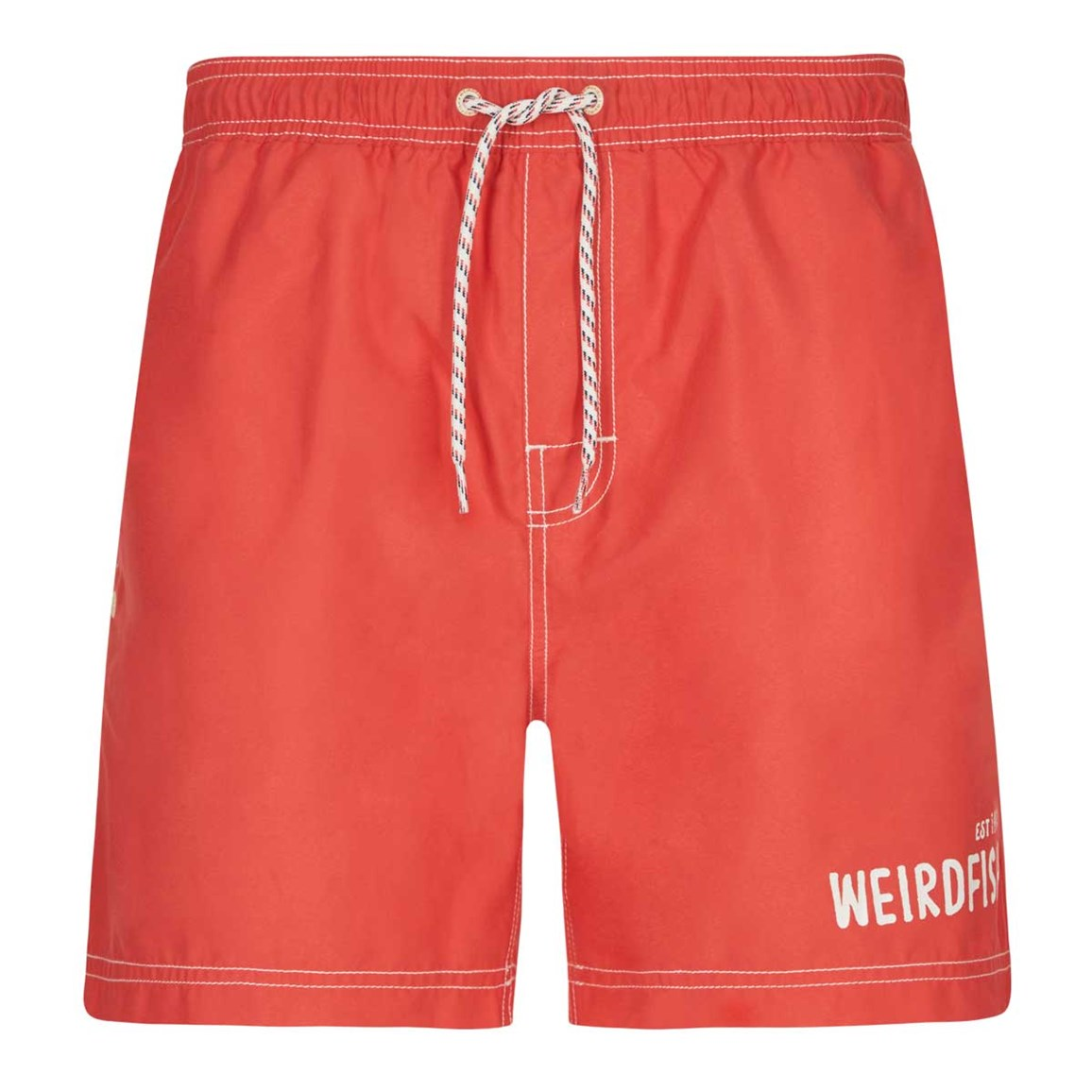 Weird Fish Volac Board Short Radical Red
