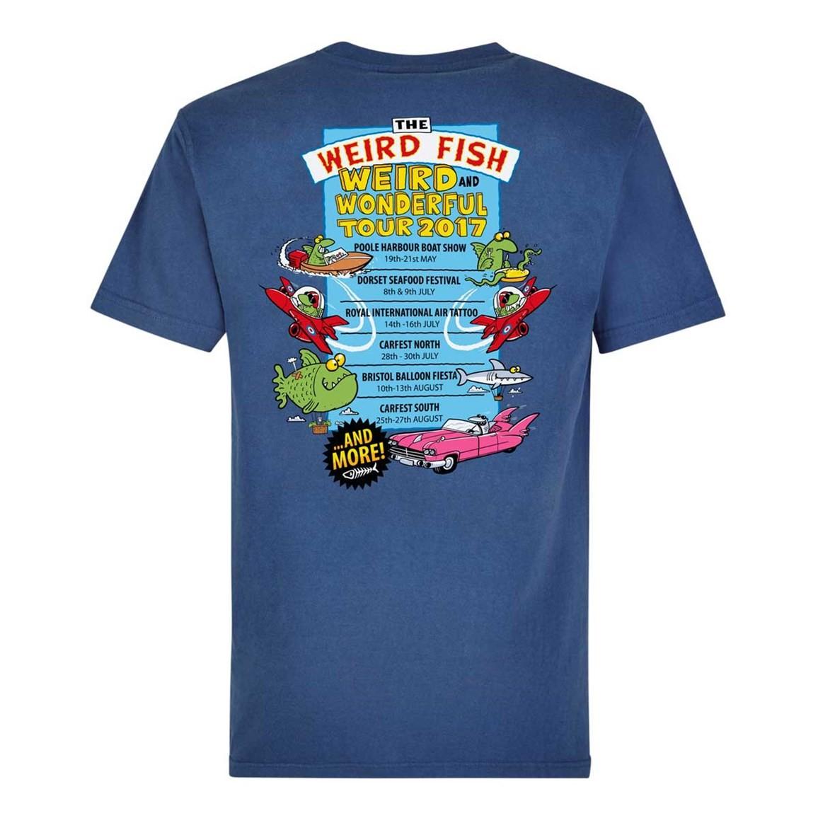 Weird fish weird wonderful tour artist t shirt ebay for Weird fish t shirts