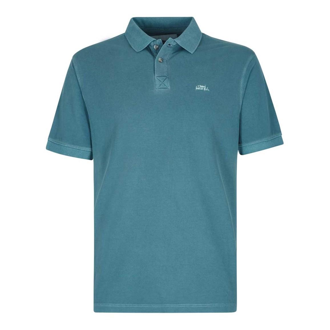 Weird Fish Edwin Garment Dyed Polo Shirt Ebay