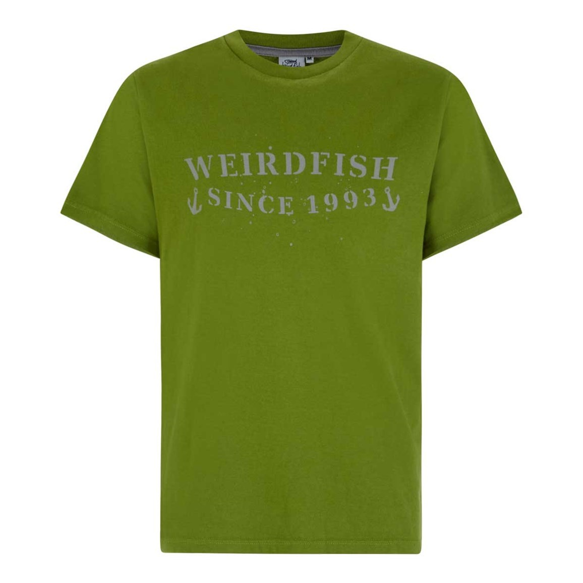 Weird Fish Anchor Graphic Print T-Shirt Tarragon