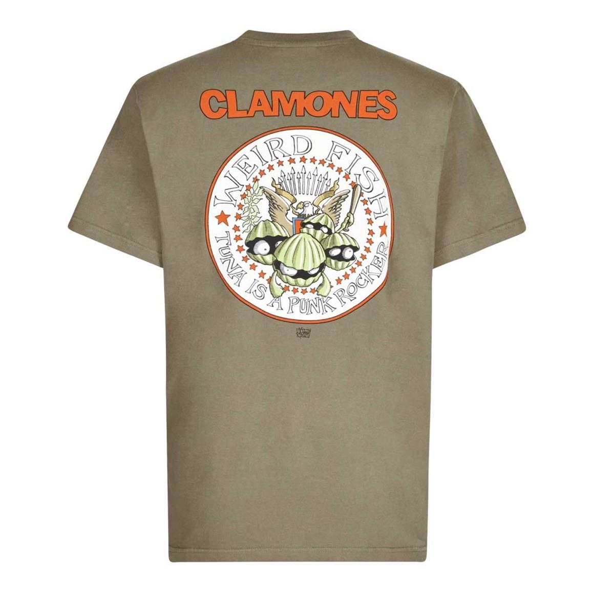Weird Fish Clamones Artist T-Shirt Bark Size 2XL