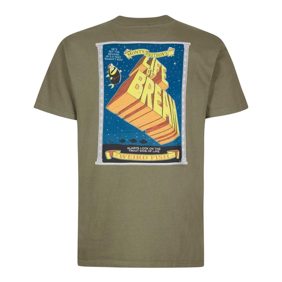 Weird Fish Life Of Bream Artist T-Shirt Bark Size 2XL