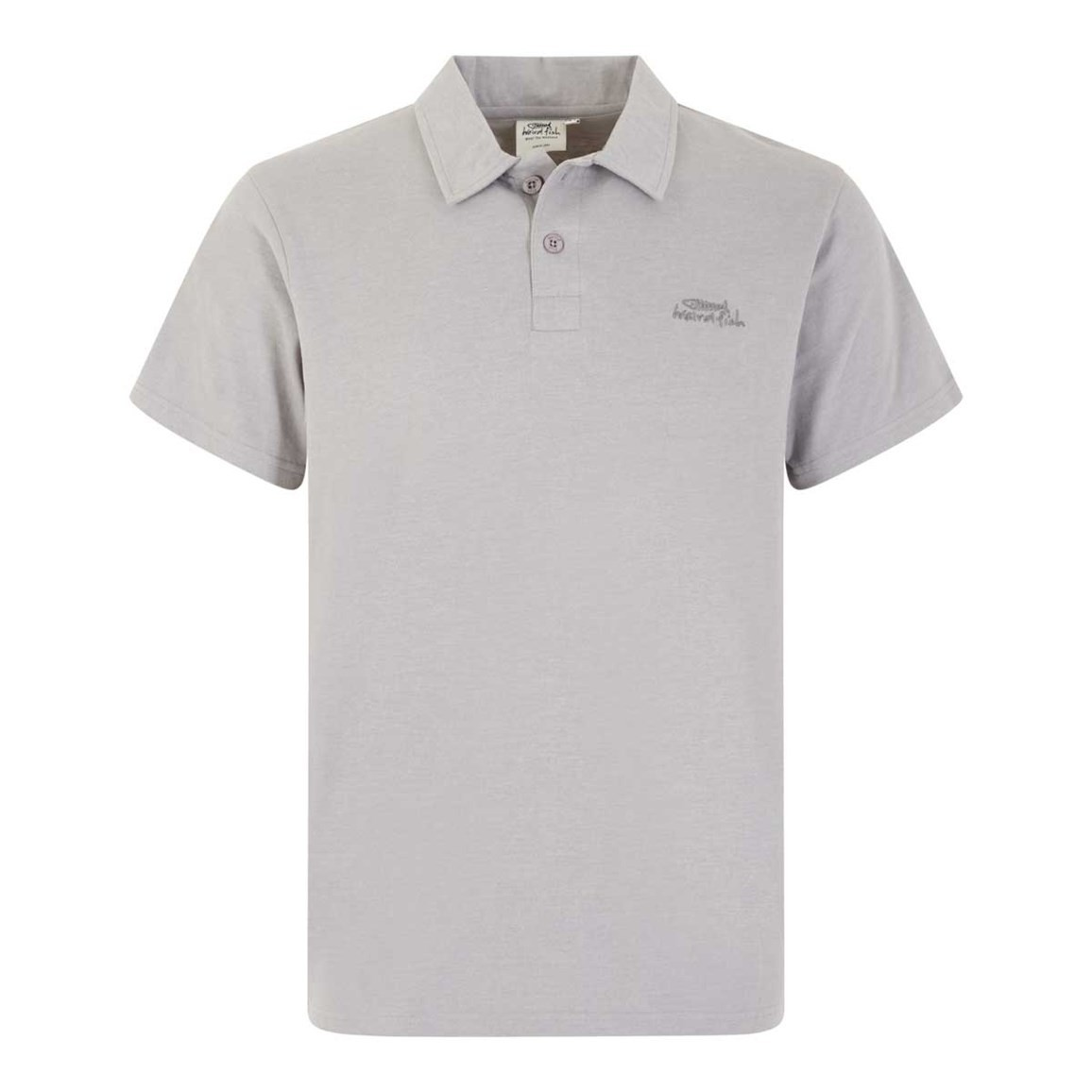 Weird Fish Andy Marled Jersey Polo Shirt Frost Grey Marl Size 2XL