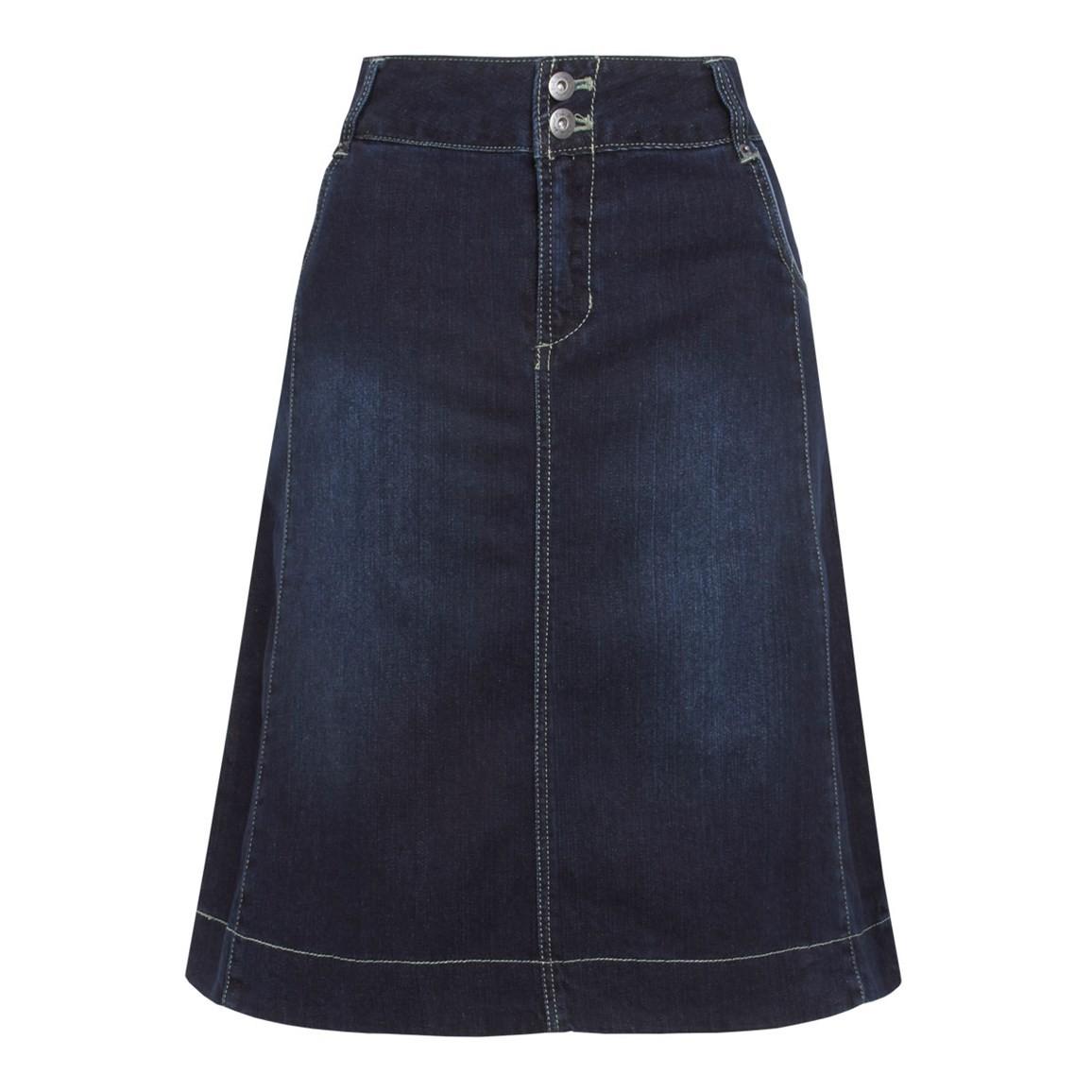 Weird Fish Selene Denim Skirt Denim Size 10