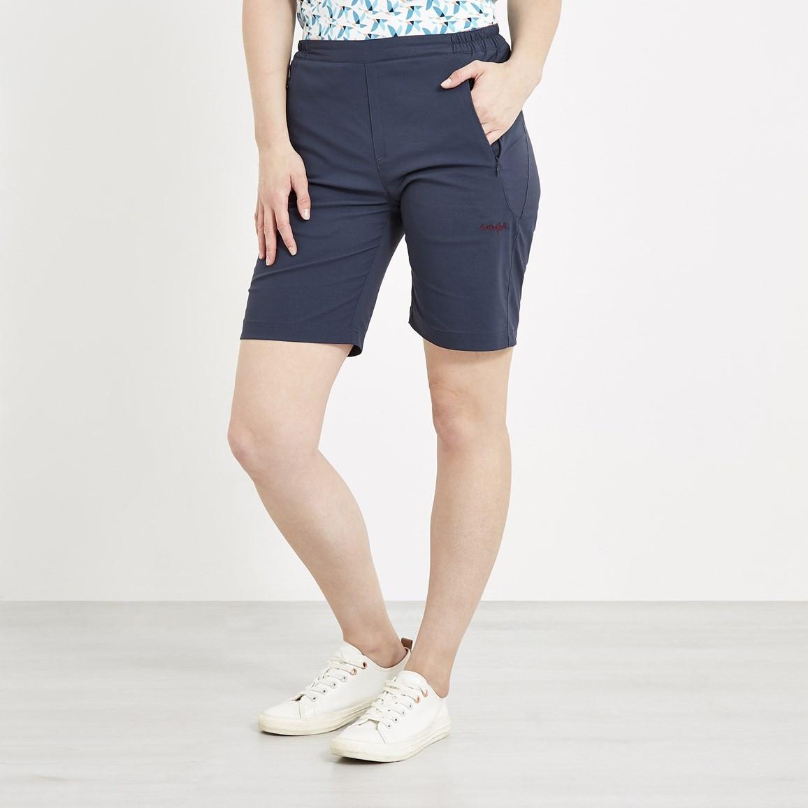 run shoes modern and elegant in fashion highly praised Harrima Quick Dry Walk Shorts Dark Navy