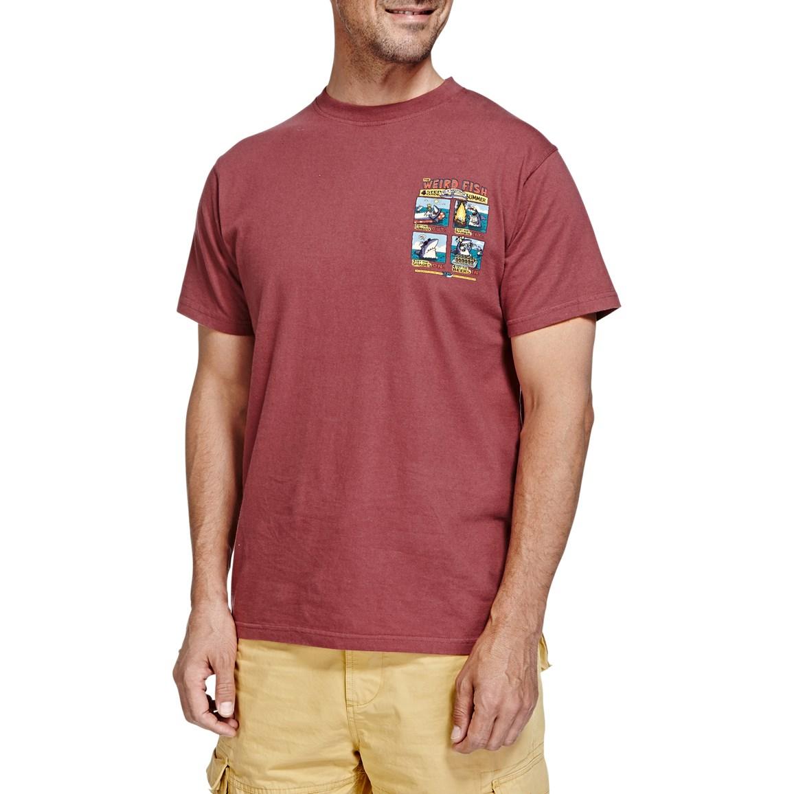 Weird Fish Four Step Guide Back Print Artist T-Shirt Soft Port Size 2XL
