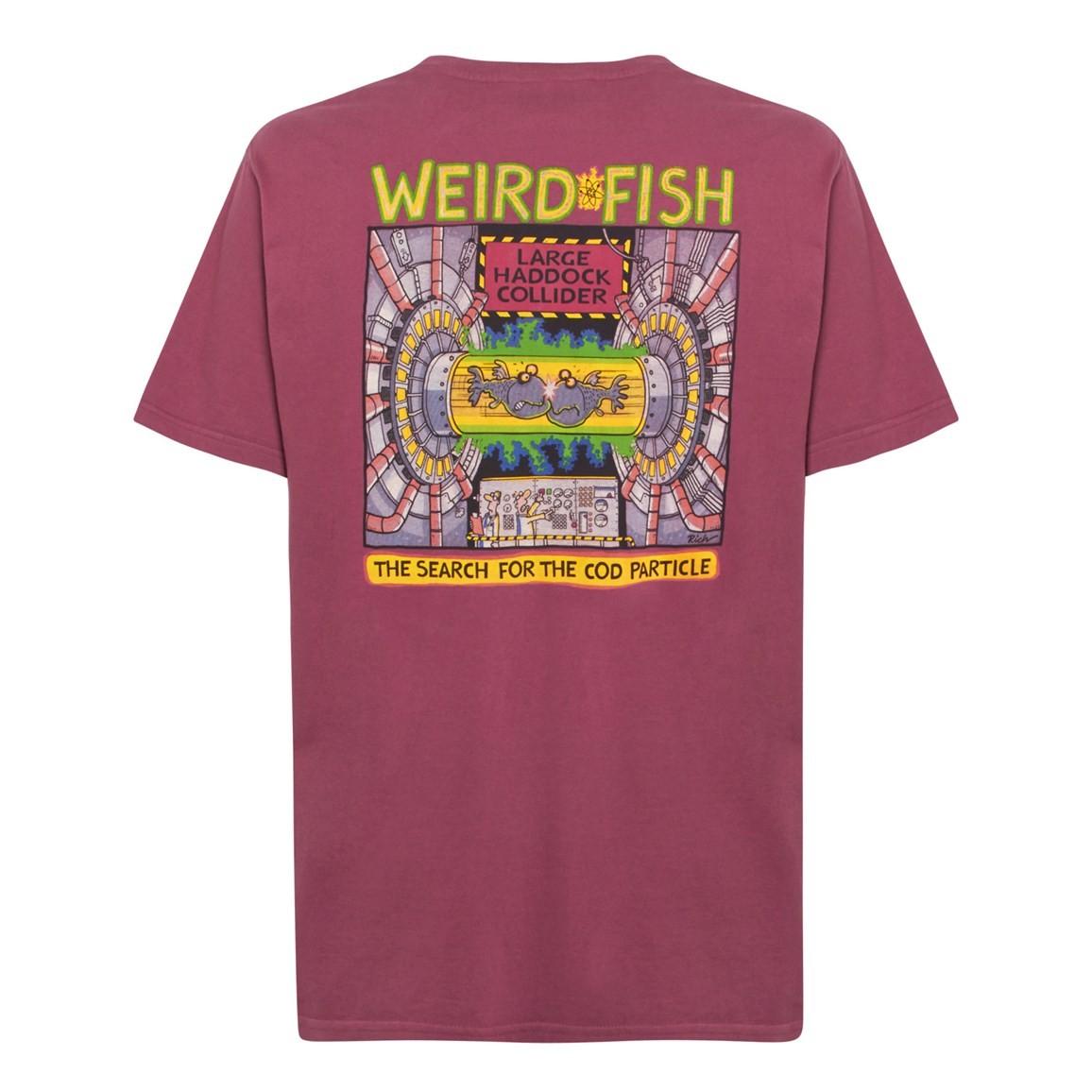 Weird Fish Haddock Collider Back Print Artist T-Shirt Soft Port Size 2XL