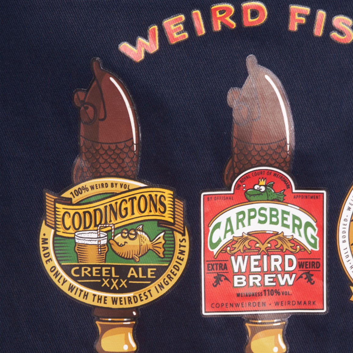 Image of Weird Fish Brian Weird Beers Apron Size ONE