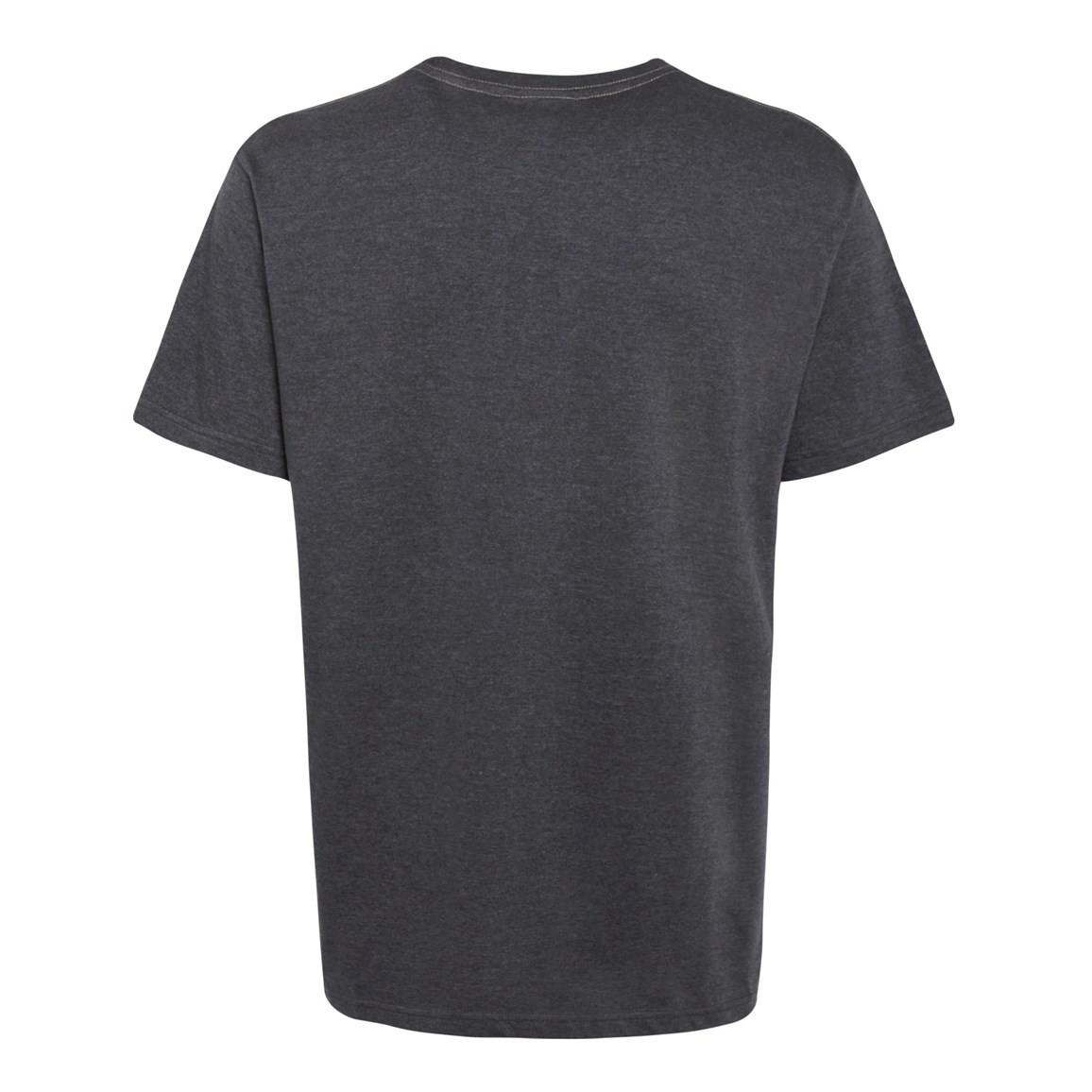 Escapade Jersey Graphic Print T Shirt Ebony Marl