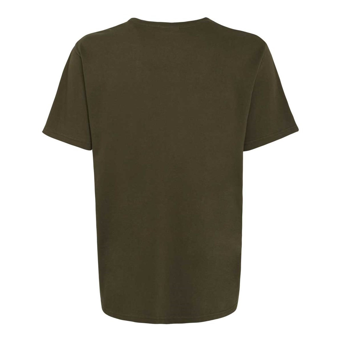 bones embroidered logo classic plain tshirt olive night
