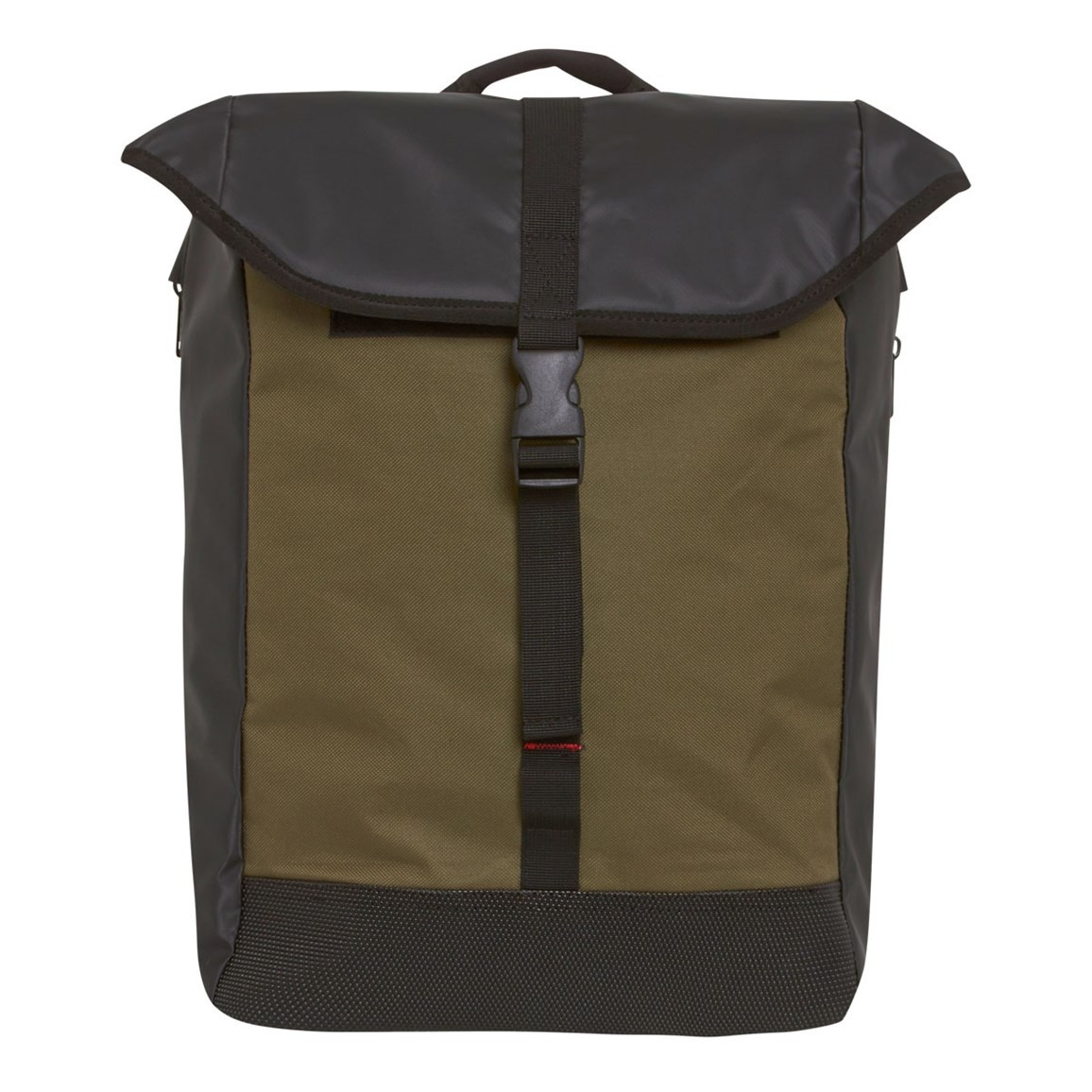 Weird Fish Rygg Technical Backpack Bag Olive Green