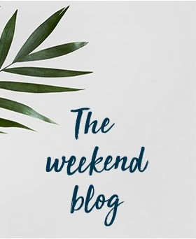 The weekend blog