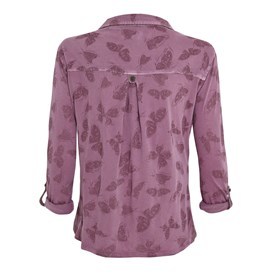 Bayshill Printed Jersey Shirt Heather