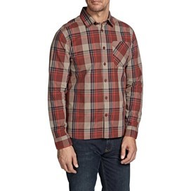 Bromley Check Long Sleeve Shirt Conker