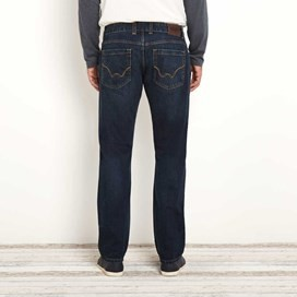 Matrix Classic Straight Leg Denim Jean Dark Blue