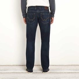 Matrix Classic Straight Leg Denim Jean Dark Blue