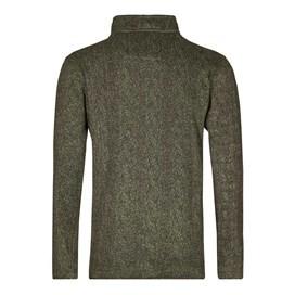 Tate Textured Tech Soft Knit Olive Night