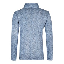 Tate Textured Tech Soft Knit Cadet Blue