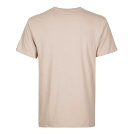Bones Embroidered Logo Classic Plain T-Shirt String Marl