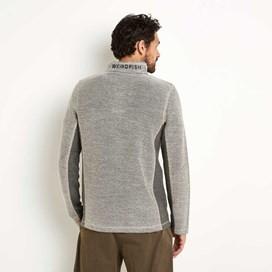 Siren 1/4 Zip Active Macaroni Sweatshirt Stone