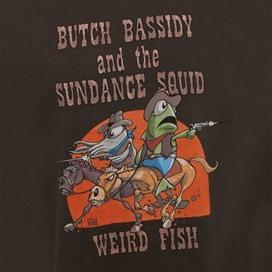 Butch Bassidy Artist T-Shirt Licorice