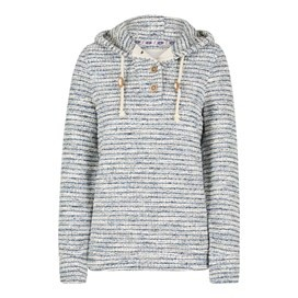 Estado Slub Knitted Hoodie Light Denim