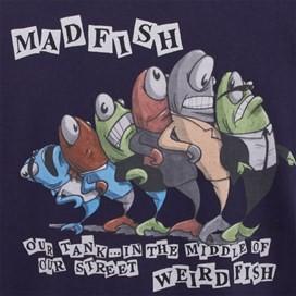 Madfish Artist T-Shirt Rich Navy